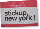 Stick Up, New York!